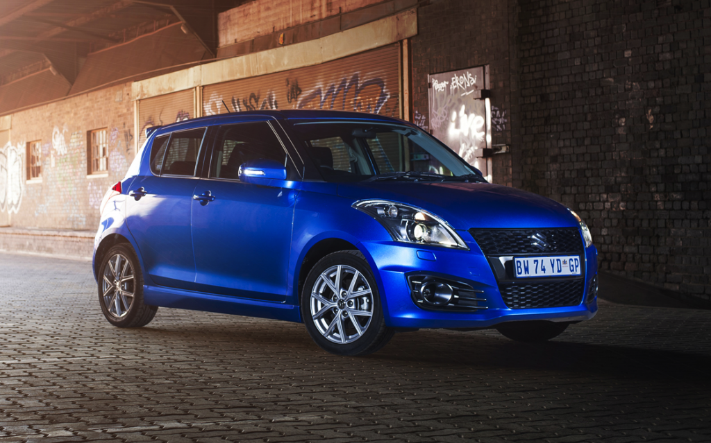 on the road with the suzuki swift