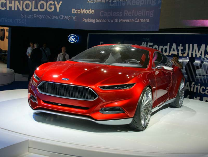 Ford's very yummy EVOS Concept
