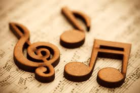 music note wooden