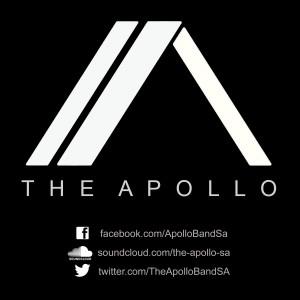 APOLLO LOGO WHITE ON BLACK