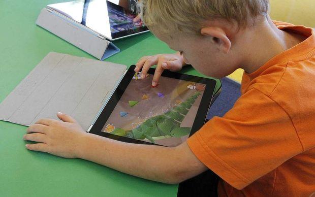 tablet in school