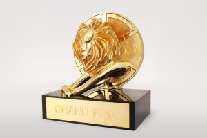 Cannes Lions Grand Prix trophy