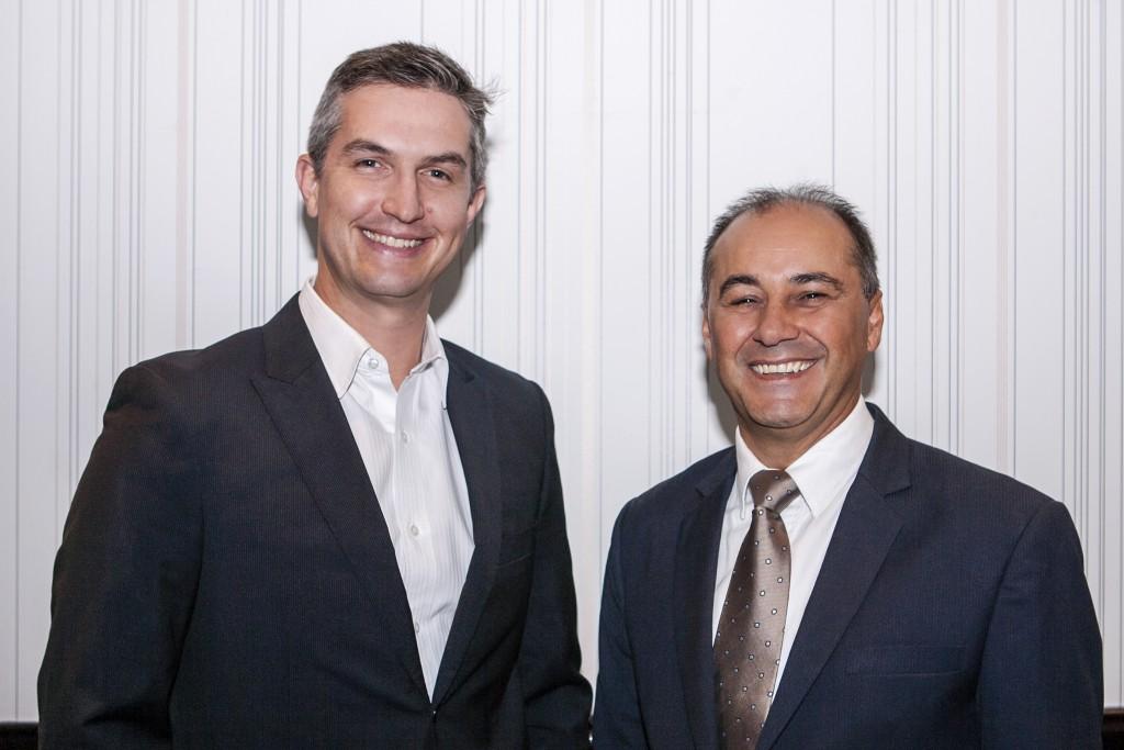 Dr Brad Wagemaker and Tony De Barros - Lamelle Co-Founders