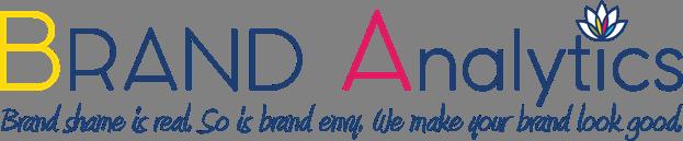 brand analytics logo white