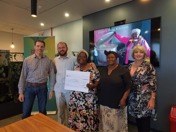 Redstor offers Joyce's Soup Kitchen some much needed support| #eBizPayItForward