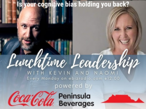 What is your cognitive bias? | #LunchtimeSeries | #Leadership | Kevin Britz | Naomi Basson | #onlinebusinessradio | #ebizradio