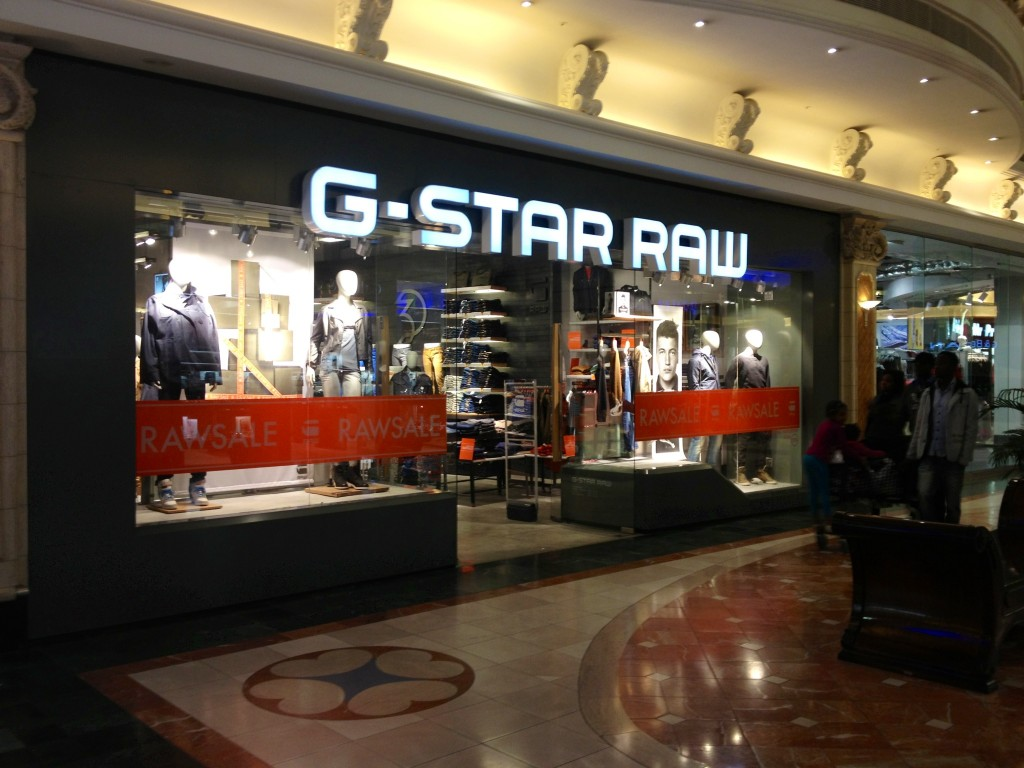 G-Star Raw Store | Canal Walk | Cape Town