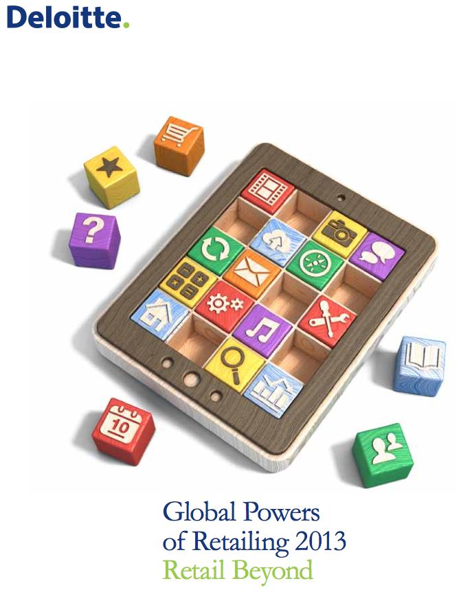Downlaod: Deloitte Global Powers of Retail 2013