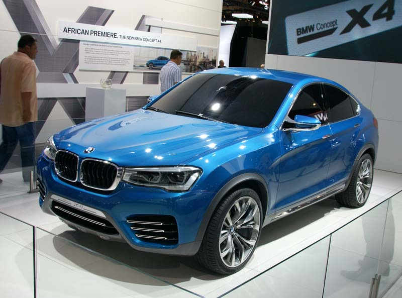 BMW gave us a glimpse of the X4 Coupe