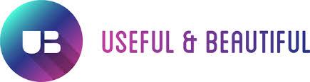 useful beautiful logo