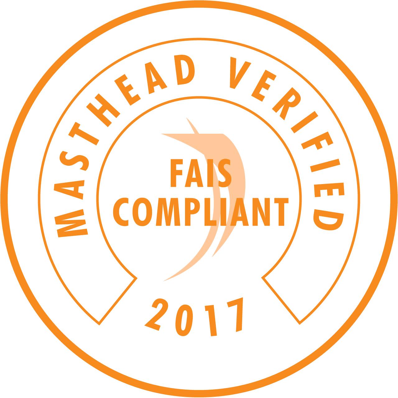 FAIS Compliant Seal