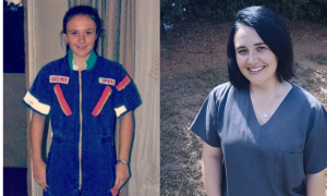Tatjana McMurray 2009 and today